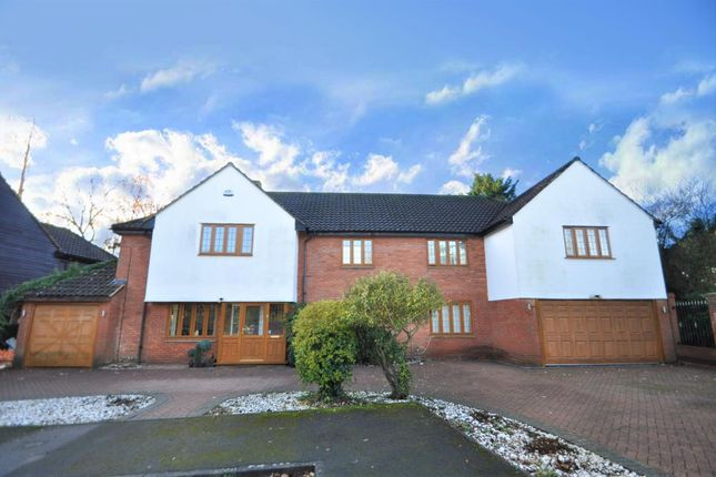 Thumbnail Detached house for sale in Maybush Road, Emerson Park