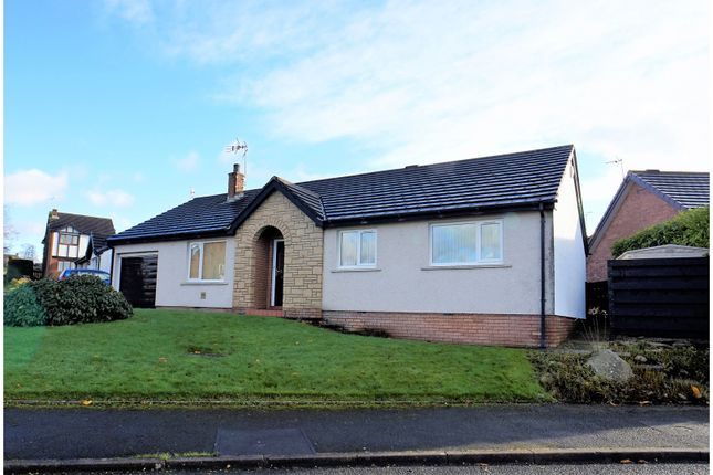 Thumbnail Detached bungalow for sale in Coniston Drive, Cockermouth
