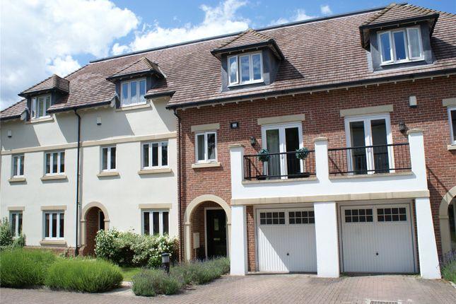 Thumbnail Terraced house for sale in Goodacre Close, Weybridge, Surrey