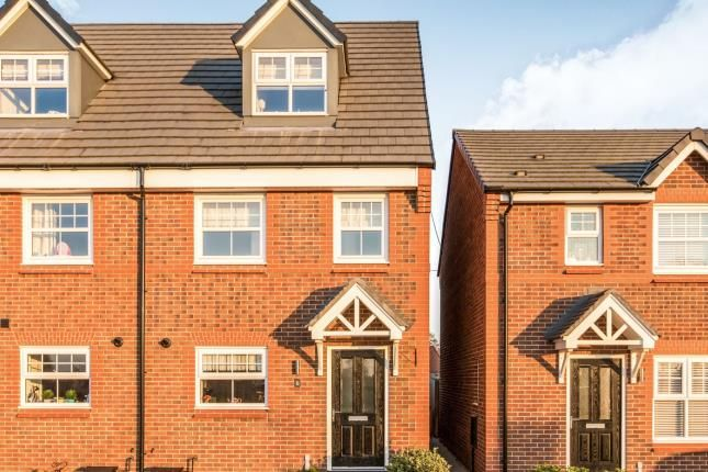 Thumbnail Semi-detached house for sale in Palmer Close, Moston, Sandbach, Cheshire