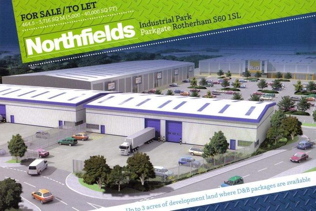 Thumbnail Commercial property for sale in Northfields Industrial Park, Parkgate, Rotherham