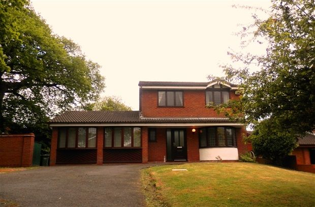 Thumbnail Detached house to rent in Dunster, Dosthill, Tamworth