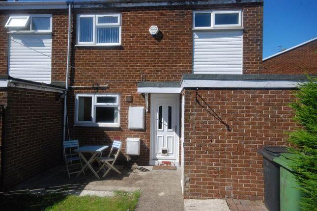 End terrace house for sale in Stonecross, Ashington