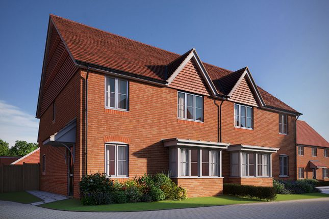 Thumbnail Semi-detached house for sale in Matthewsgreen Road, Wokingham, Berkshire