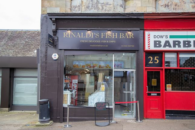 Retail premises for sale in St Clair Street, Kirkcaldy