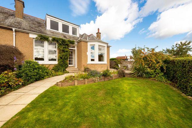 Thumbnail Semi-detached bungalow for sale in 1B, Gardiner Grove, Edinburgh