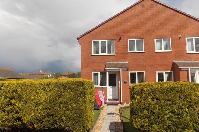 Thumbnail Semi-detached house for sale in Glan Mor, Prestatyn