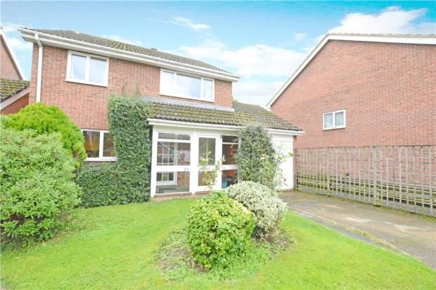 Thumbnail Detached house for sale in Northcroft, Wooburn Green, High Wycombe