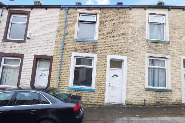 Front View of Farrer Street, Nelson, Lancashire BB9