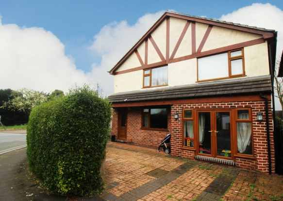 Thumbnail Detached house for sale in Alexandra Crescent, Uttoxeter, Staffordshire