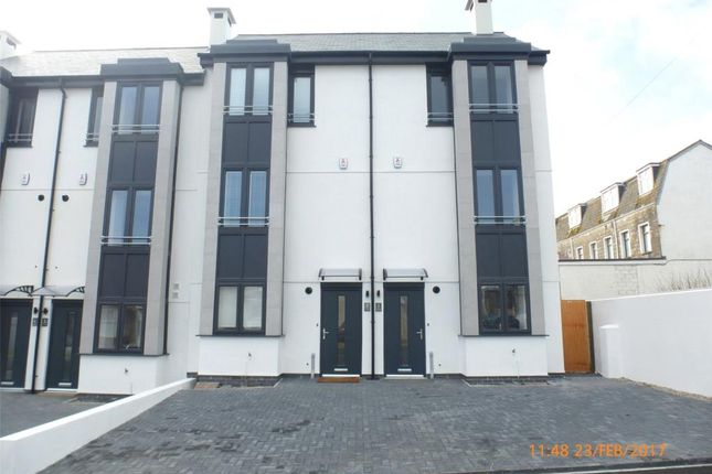 Thumbnail Terraced house to rent in Ocean Heights, Ulalia Road, Newquay, Cornwall