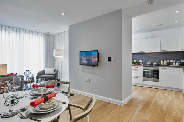 Thumbnail Flat for sale in Plot 40, Trinity Square, High Road, Finchley, London