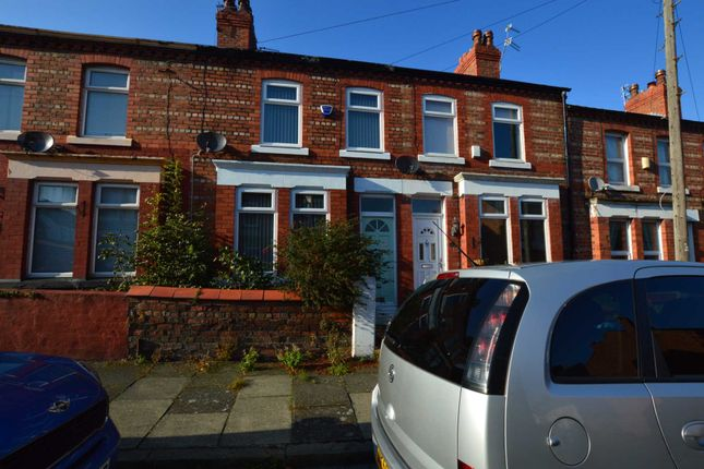 Thumbnail Terraced house to rent in Trafalgar Drive, Bebington, Wirral