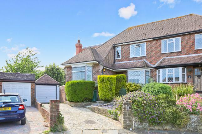 Thumbnail Semi-detached house to rent in Tudor Close, Hove