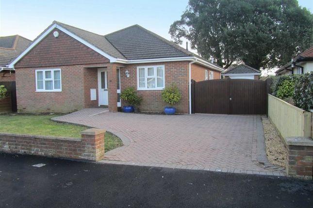 Thumbnail Detached bungalow for sale in Greenacre, Barton On Sea, Hampshire