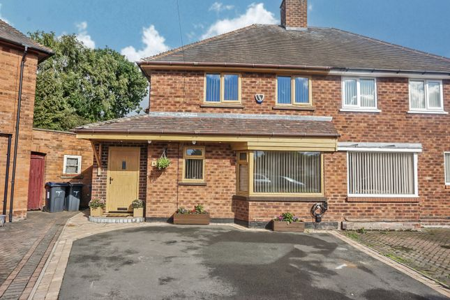 4 bed semi-detached house for sale in Whitehead Drive, Minworth, Sutton Coldfield B76
