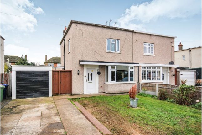 Thumbnail Semi-detached house for sale in Thomas Bata Avenue, East Tilbury