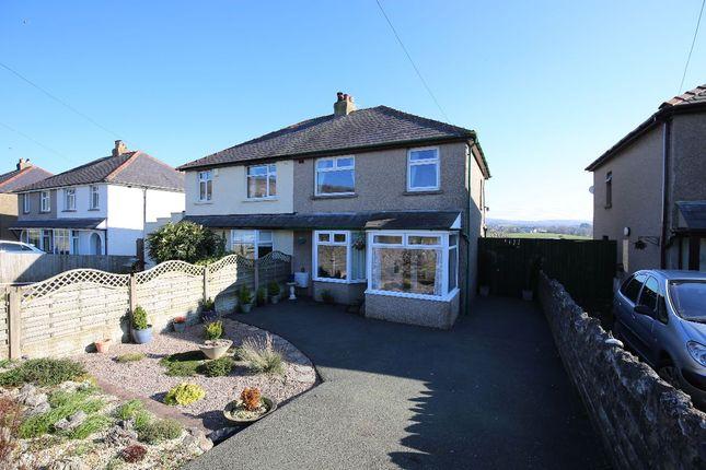Thumbnail Semi-detached house for sale in Sand Lane, Warton, Carnforth
