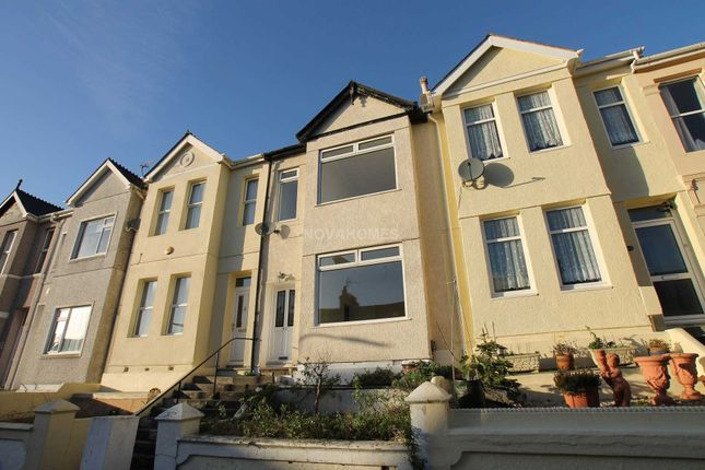 Thumbnail Terraced house for sale in Neath Road, Plymouth
