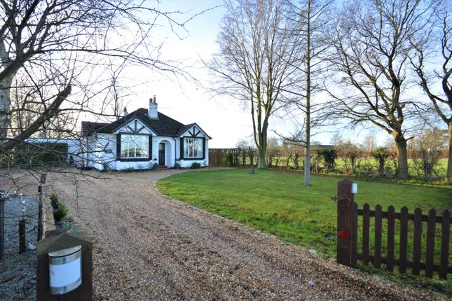 Thumbnail Detached bungalow for sale in Holmes Chapel Road, Allostock, Knutsford
