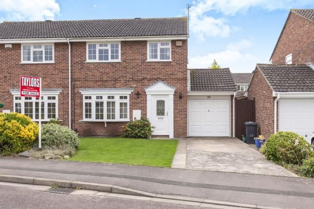 Thumbnail Semi-detached house for sale in Thrush Close, Abbeydale, Gloucester, Gloucestershire