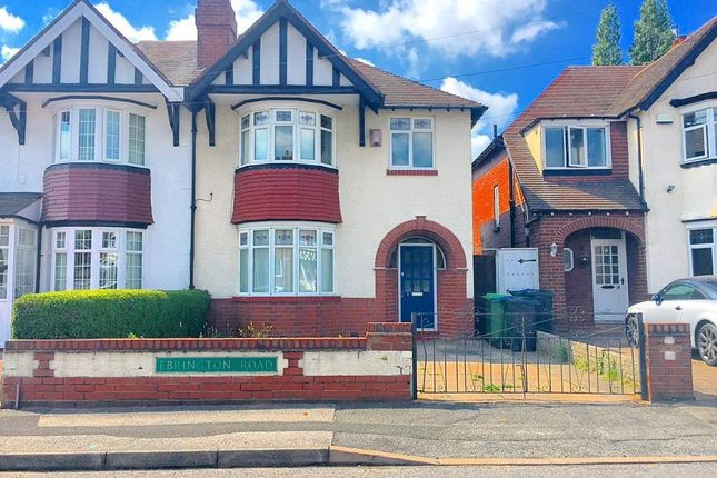Thumbnail Semi-detached house for sale in Ebrington Road, West Bromwich