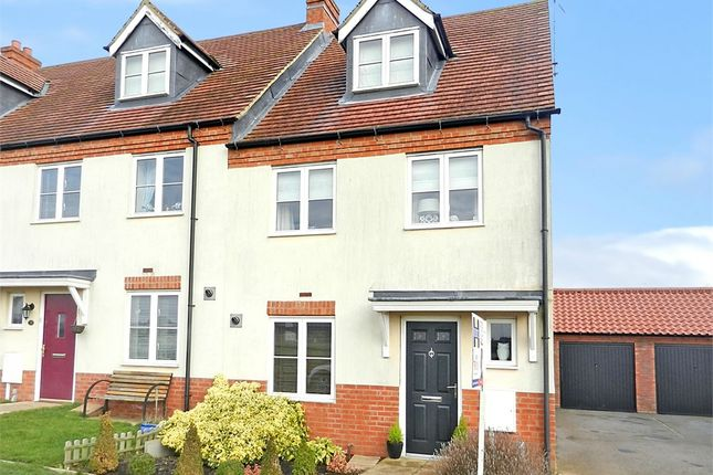 3 bed end terrace house for sale in Hares Run, Mawsley Village, Kettering, Northants