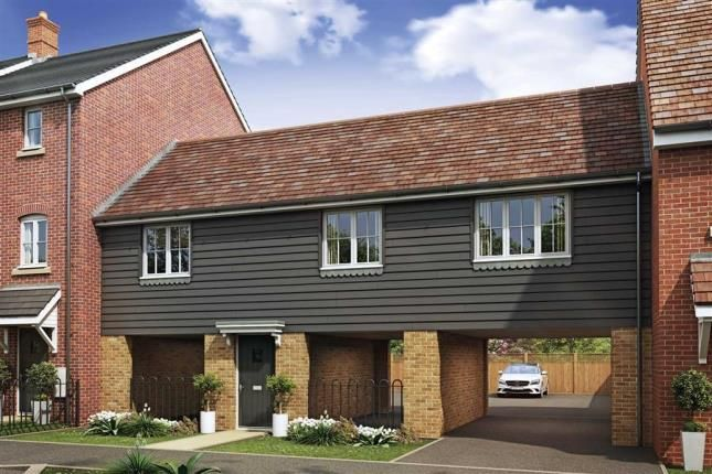 Thumbnail End terrace house for sale in Oakbrook San Andres Drive, Newton Leys, Bletchley, Milton Keynes
