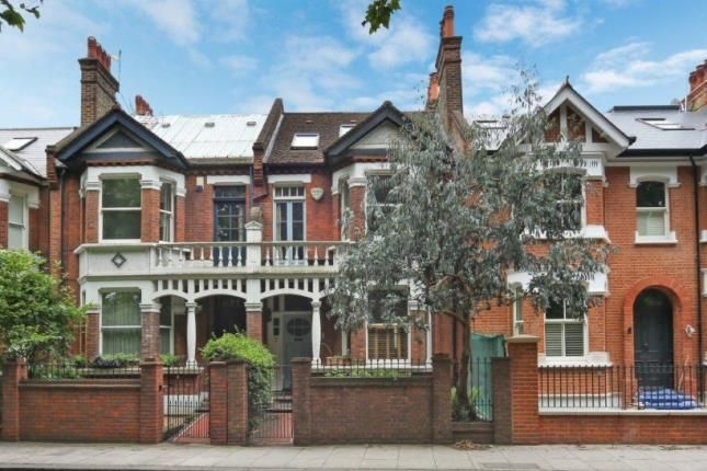 Thumbnail Terraced house for sale in Clapham Common West Side, Clapham, London