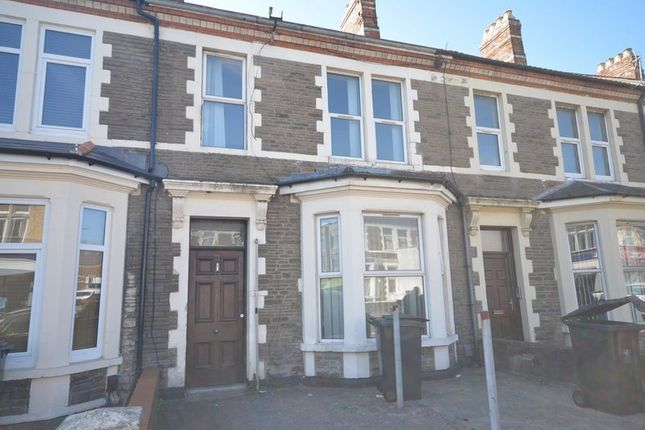 Thumbnail Terraced house to rent in Crwys Road, Cathays, Cardiff