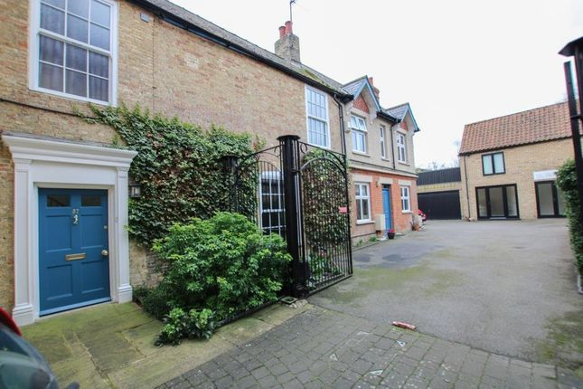 Thumbnail End terrace house for sale in High Street, Soham, Ely