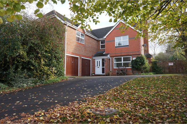 Thumbnail Detached house for sale in Perch Close, Daventry