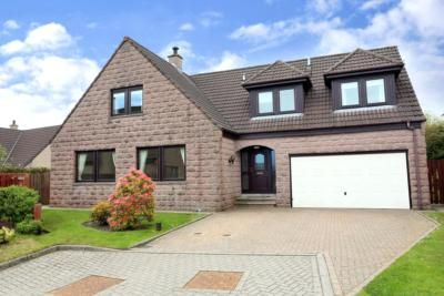 Thumbnail Detached house to rent in Coull Gardens, Kingswells