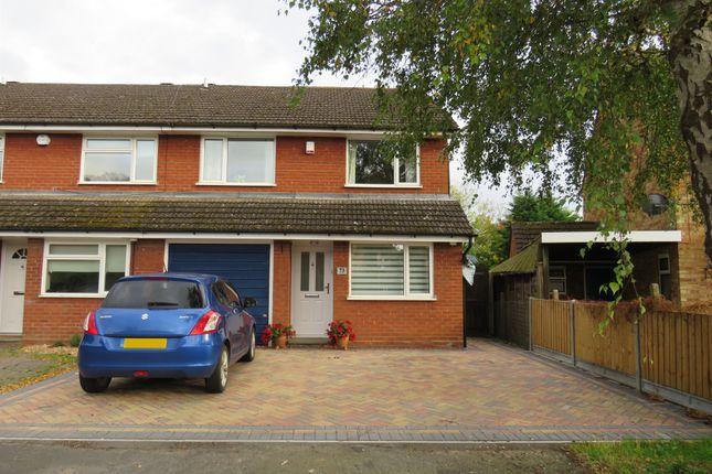Thumbnail End terrace house for sale in Giffard Way, Long Crendon, Aylesbury