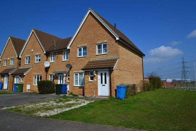 Thumbnail Terraced house to rent in Samuel Drive, Kemsley, Sittingbourne