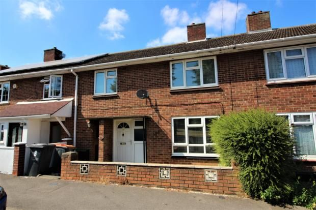 Thumbnail Terraced house to rent in Elliott Crescent, Bedford