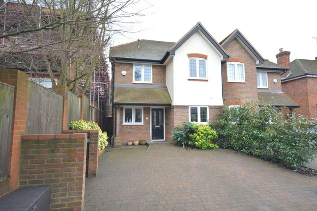 Thumbnail Semi-detached house for sale in Sawpit Hill, Hazlemere, High Wycombe