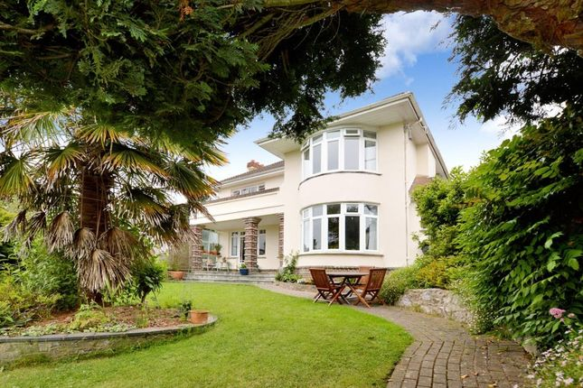Thumbnail Detached house for sale in Knowles Hill Road, Newton Abbot, Devon