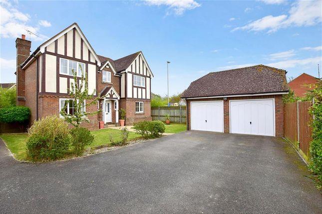 Thumbnail Detached house for sale in Dexter Close, Kennington, Ashford, Kent