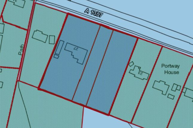 Site Plan of Cambridge Road, Abington, Cambridge CB21