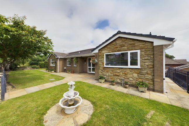 Thumbnail Detached bungalow for sale in Park Road, Tanyfron, Wrexham