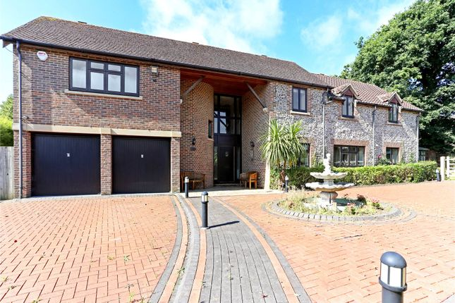 Thumbnail Detached house for sale in Wildgoose Drive, Horsham, West Sussex