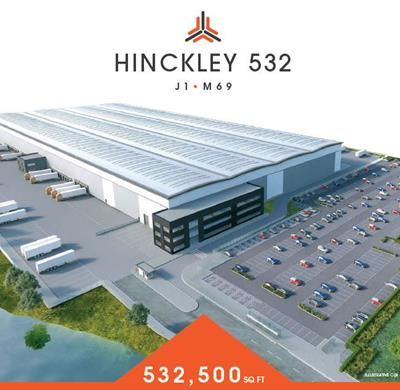 Thumbnail Light industrial to let in Hinckley 532, Hinckley Park, Junction 1, Hinckley, Leicestershire