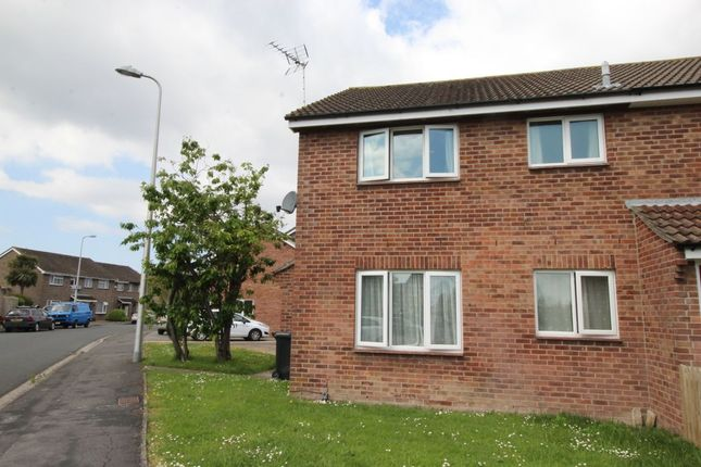 Thumbnail Semi-detached house to rent in Yeolands Drive, Clevedon