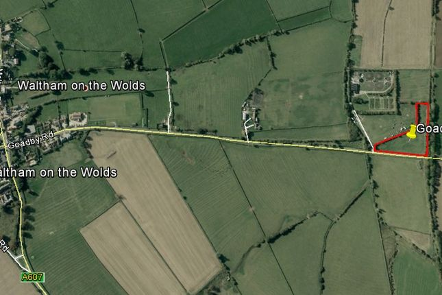Thumbnail Land for sale in Goadby Road, Waltham-On-The-Wolds