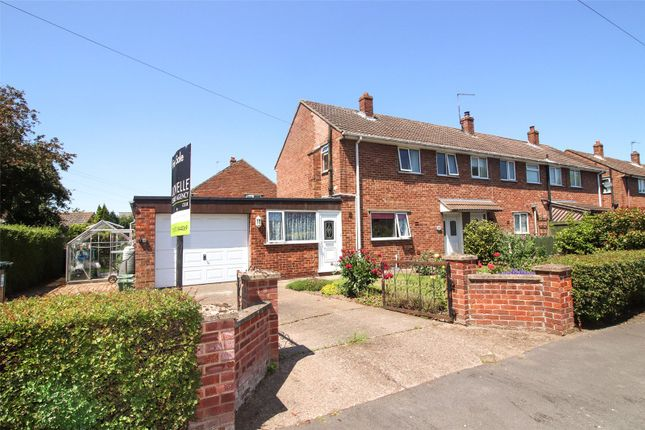 Thumbnail End terrace house for sale in Hansards Drive, Wragby, Market Rasen