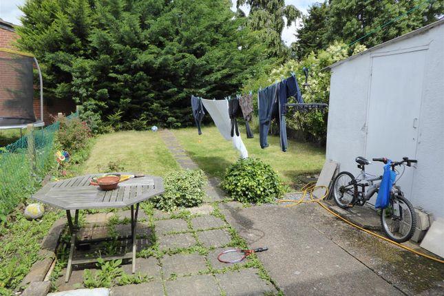 Rear Garden of Lela Avenue, Hounslow TW4