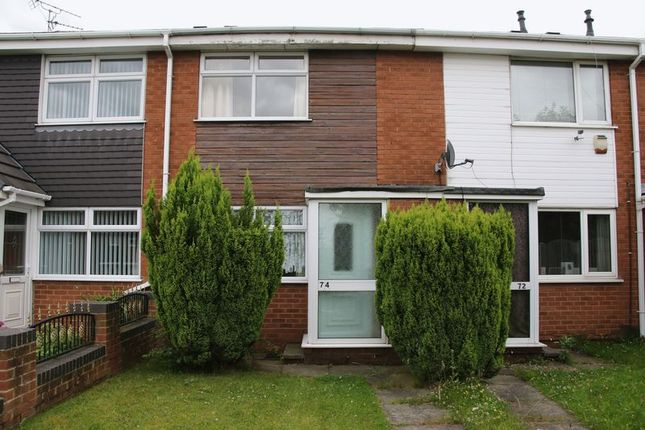 Thumbnail Terraced house to rent in Slant Lane, Shirebrook, Mansfield
