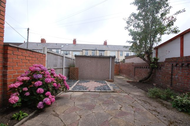 Garden of Mayfield Avenue, Blackpool FY4