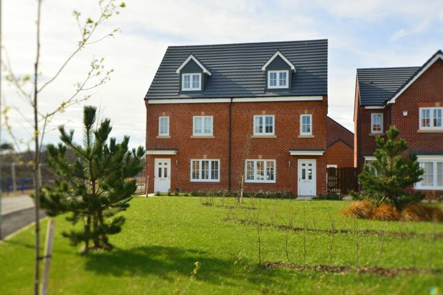 Thumbnail Semi Detached House To Rent In Harrier Way Middlesbrough
